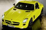 Электромобиль Mersedes-Benz SLS AMG E-Cell