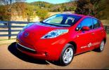 Электромобиль Nissan Leaf 2012