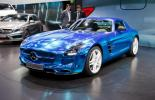 Электромобиль Mercedes-Benz SLS AMG Electric Drive