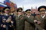 ветераны на параде победы