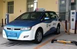 Электромобиль BYD е6 такси Крыма