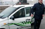 Первые такси-электромобили в Кисловодске