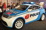 Электромобиль Ё-мобиль полицейский