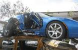 Tesla Roadster попал в аварию