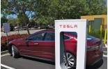 Молния ударила в Tesla Model S