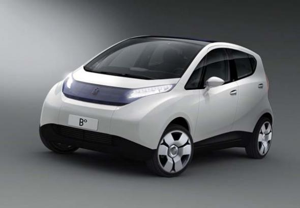 Электромобиль Pininfarina Bluecar