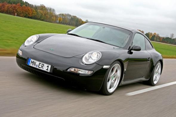 Электромобиль Porsche 911 eRUF Model A
