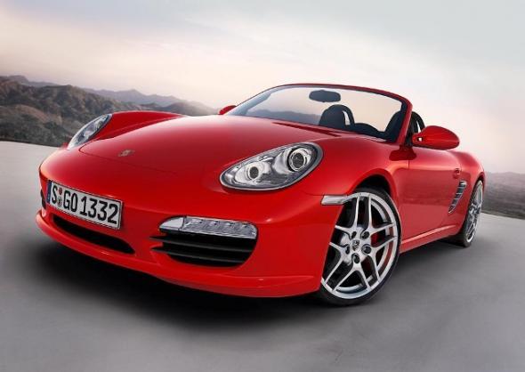 Электромобиль Porsche Boxster E