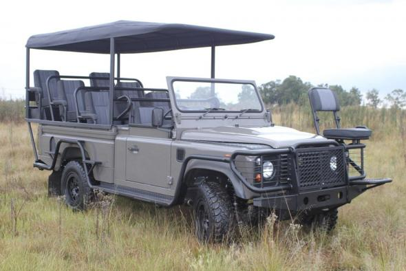 Электромобиль Land Rover Defender