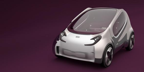 Электромобиль Kia Electric POP