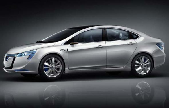 Электромобиль Luxgen Neora EV