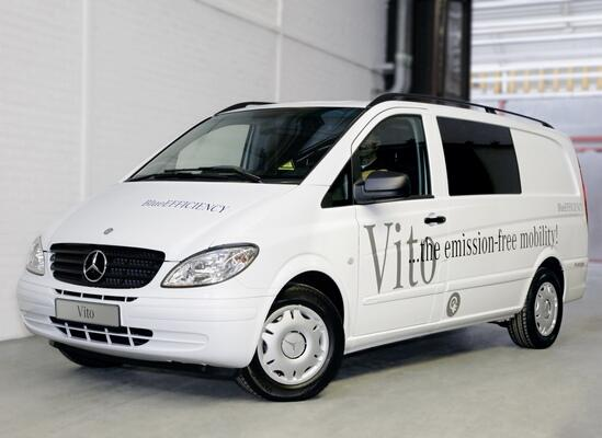 Электромобиль Mercedes-Benz Vito E-CELL