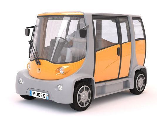 Электромобиль Muses Mooville