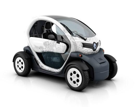 Электромобиль Renault Twizy
