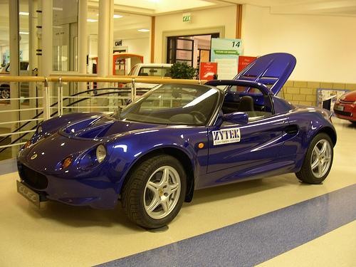 Электромобиль Zytek Lotus Elise