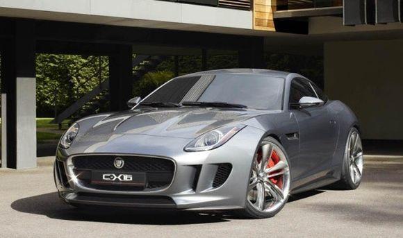 Jaguar C-X16 hybrid  станет достойным представителем гибридной индустрии