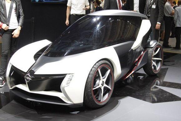 Маленький и дешёвый - концепт электромобиля Opel RAK