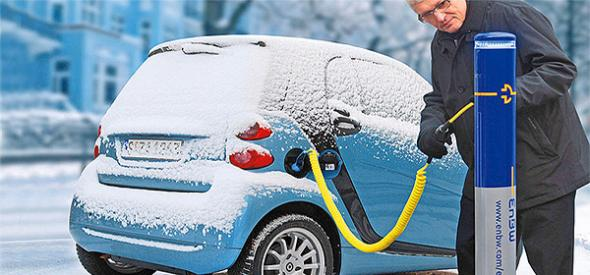 Отопление и охлаждение электромобилей