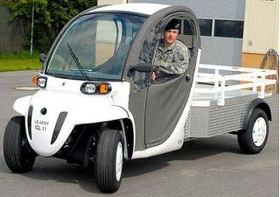 Chrysler продаёт низкоскоростные электромобили Электромобили и Электромотоциклы