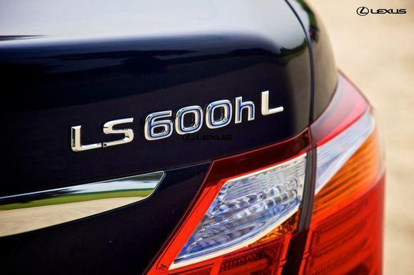 Гибрид Lexus LS600 h L