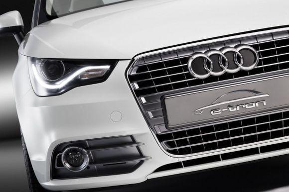 Электромобиль E-Tron Audi A2