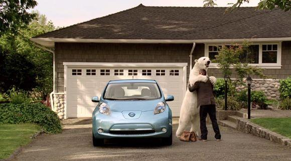 реклама электромобилей и гибридов