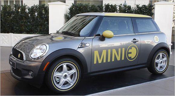 Электрокар MINI E