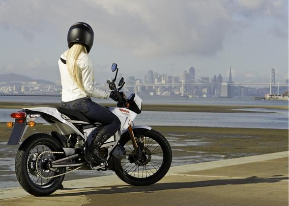 Электромотоцикл Zero XU