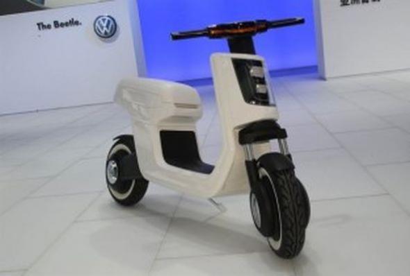Электроскутер Volkswagen e-Scooter