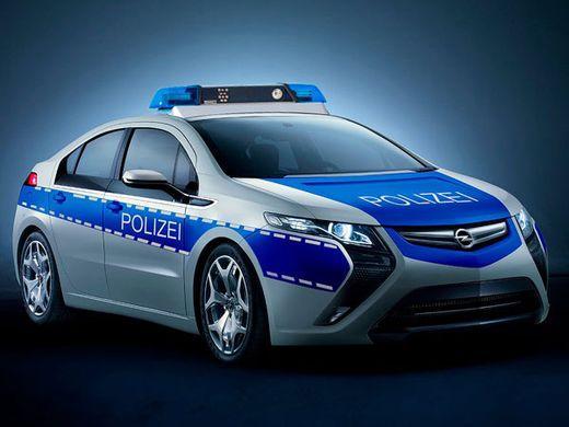 Электромобиль для полиции