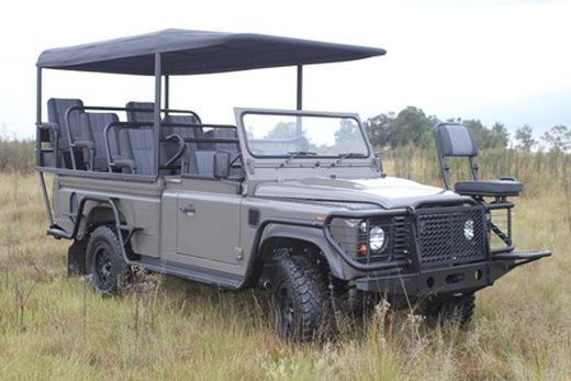 Электромобиль Land Rover
