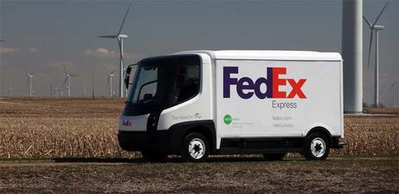 Электромобиль грузовик