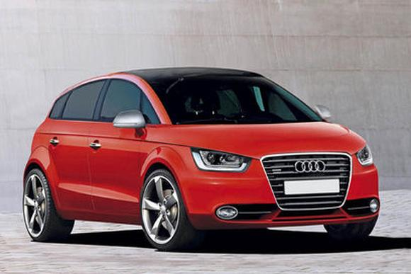 Электромобиль Audi A2