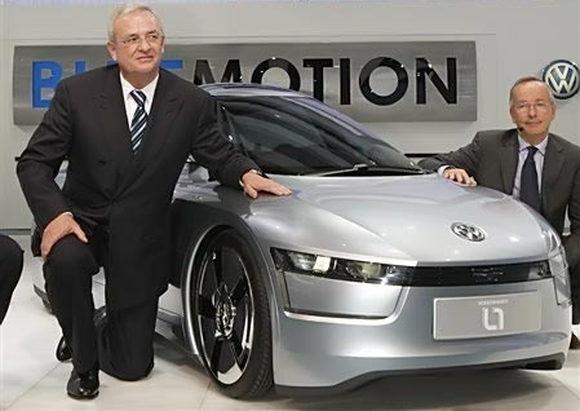 Генеральный директор Volkswagen Мартин Винтеркорн