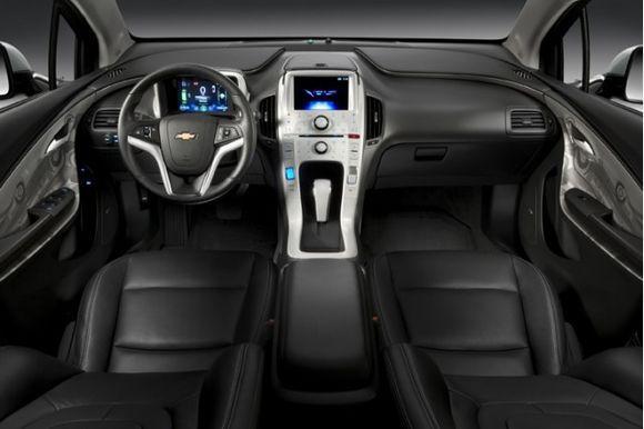 Chevy Volt - взгляд изнутри