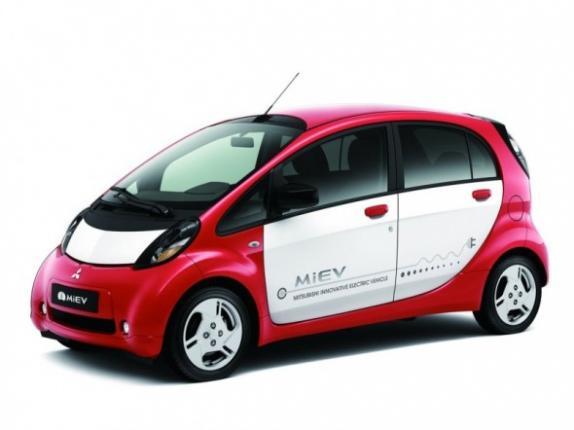 Электромобиль  i-MiEV придет в Россию в октябре