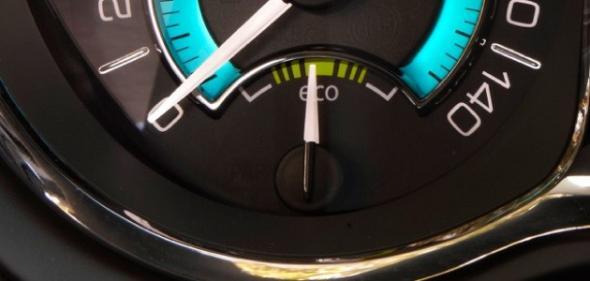 Электромобиль следит за уровнем загрязнений атмосферы
