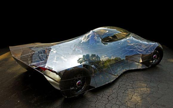 Самодельный электромобиль выглядит очень даже неплохо!