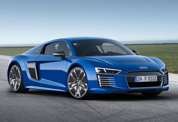 Audi R8 E-tron 2015 – электрокар