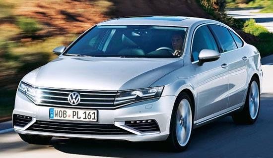 Гибрид Volkswagen Passat выпуска 2015 года