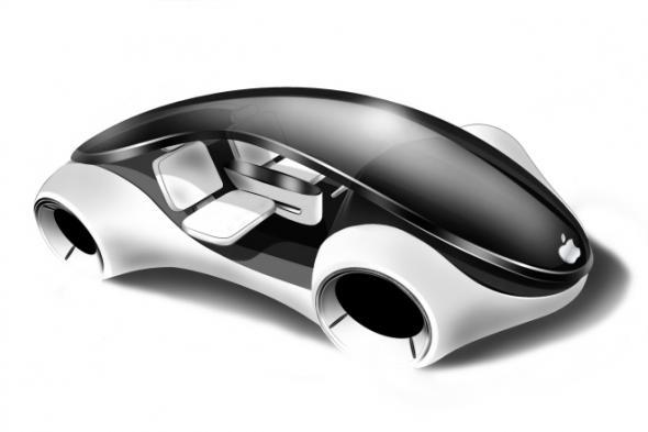 Электромобиль Титан от Apple (прототип)