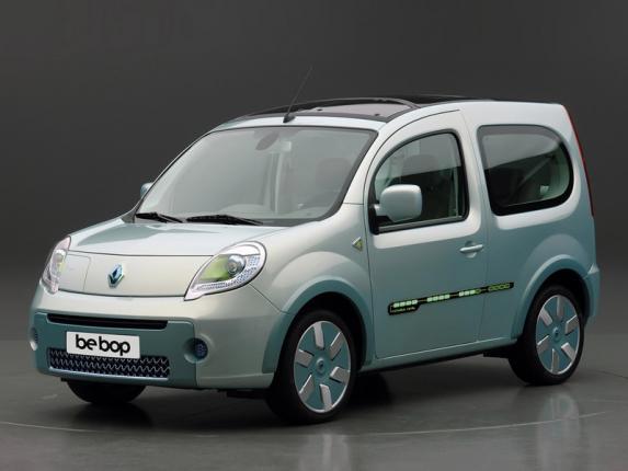 Электромобиль Kangoo Z.E назван  лучшим в мире фургоном