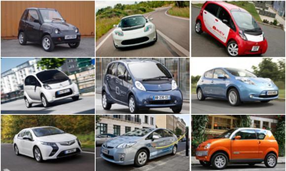 Десятка электромобилей, которые можно купить