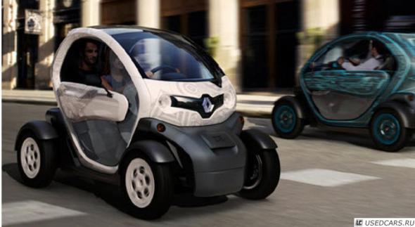Renault Twizy : электромобиль без дверей