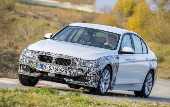 Обновлённый гибридный BMW 3-Series