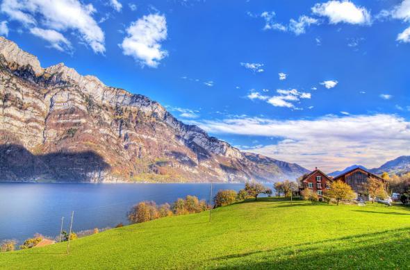 Электромобили в Альпах
