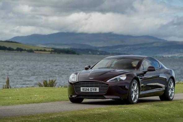 Электромобиль Aston Martin Rapide