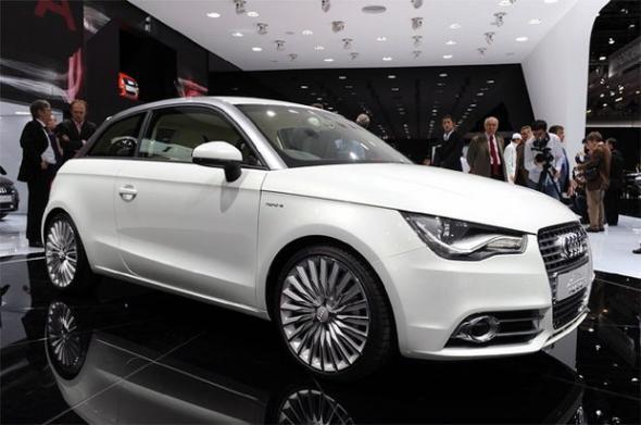 Электромобиль Audi e-tron выигрывает гонки