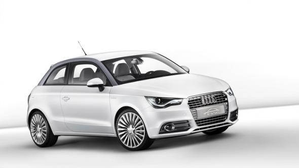 Электромобиль Audi A1 e-tron