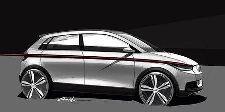 Audi А2: в ожидании Франкфурта